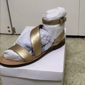 Brand new Fifth City sandals